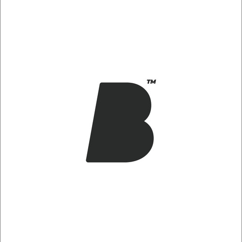 Bold logo for athlete's apparel