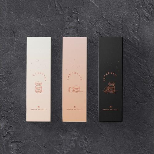 Packaging design for Maison Amarella