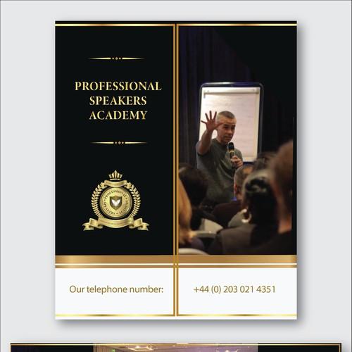 Brochure design for meeting