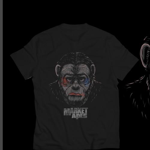 Ape T shirt design