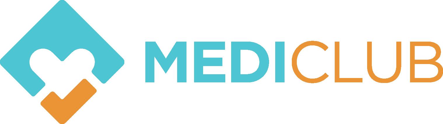 Design a modern, simple logo for MEDICLUB (lifestyle, medical field)