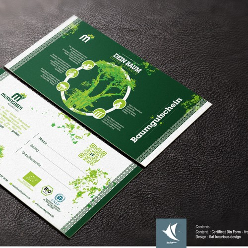 Winning Certifcation design for Moringa
