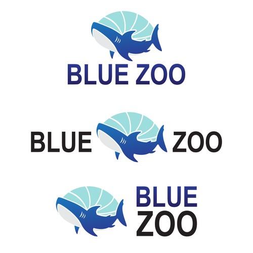 Logo design for aquarium.