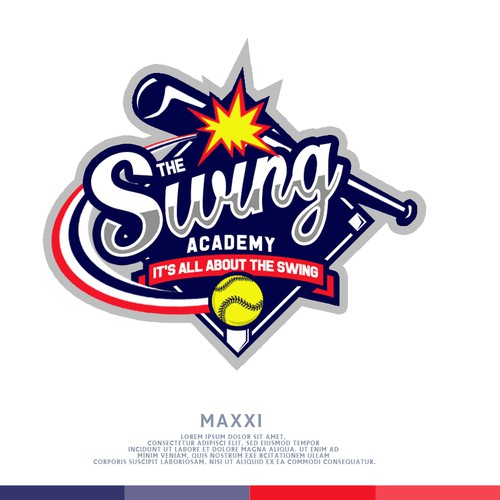 Softball Swing Logo