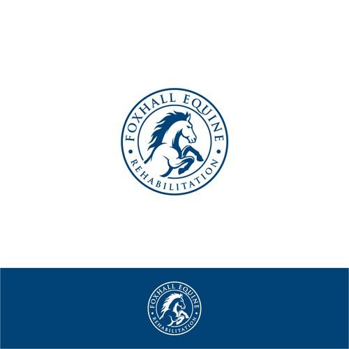 Design logo for historical horse business