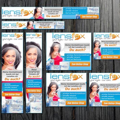 LensFox - HTML5 Bannerset