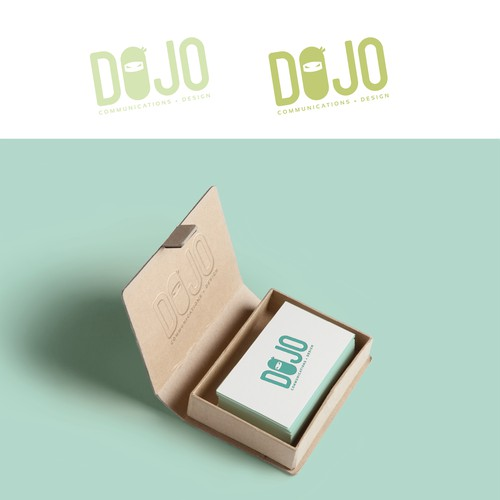 Design a simple/minimalist, but clever and fun logo for Dojo.