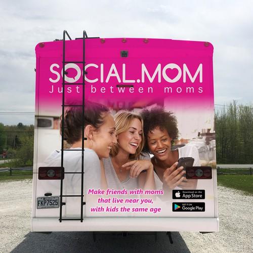 Wrap design for social.com