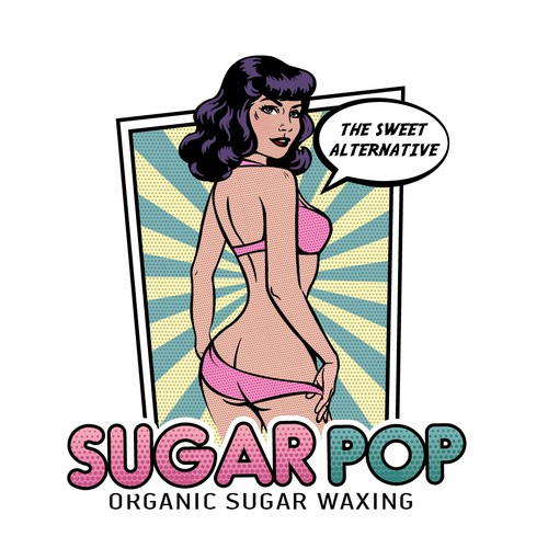 Logo for Pop Art Hair Removal Salon