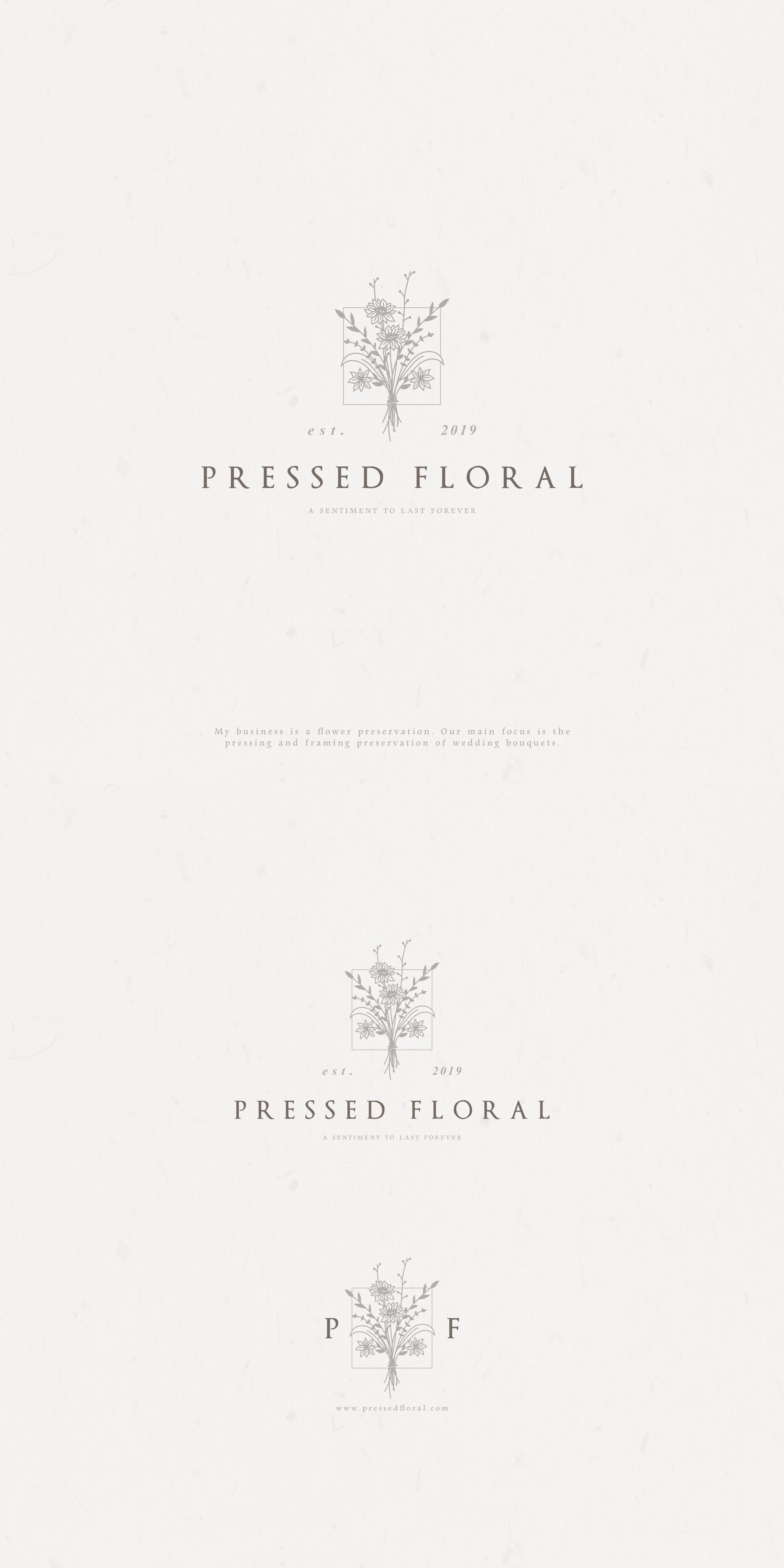 Logo design for startup floral art company!!