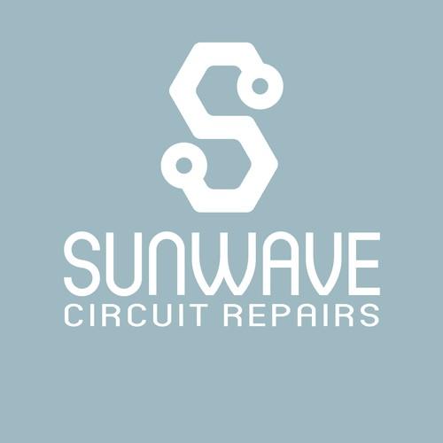 Logo for circuit repair company
