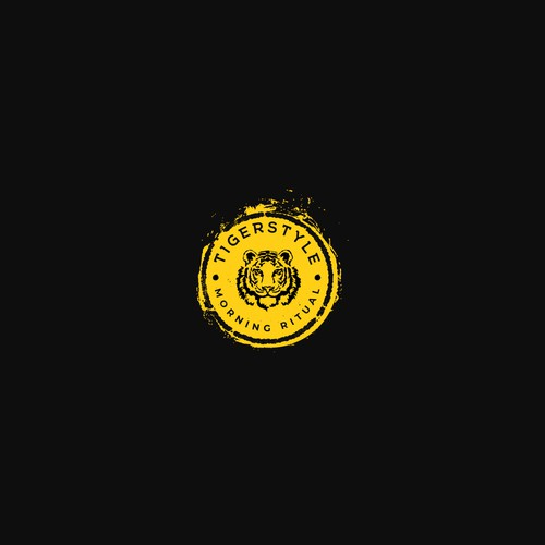 tiger logo design for the coffee brand tigerstyle