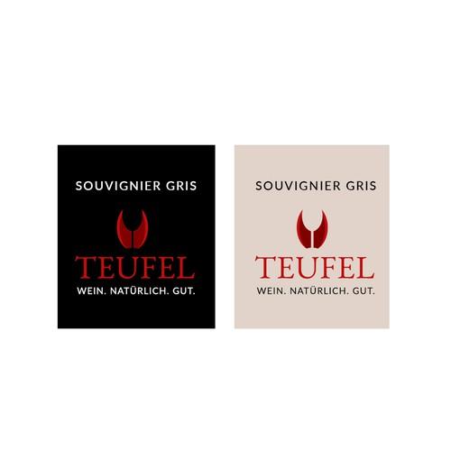Prägnantes Logo für Weingut