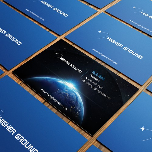 Business Cards for Consumer Electronics Satellite Company