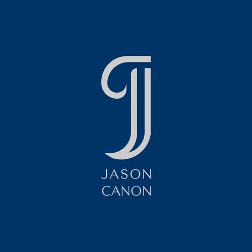 Monogram and Negative Space Logo Design for Jason Canon