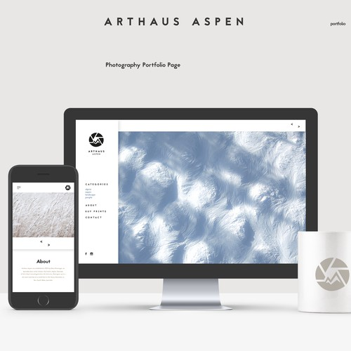 Arthaus Aspen Brand and Web Design