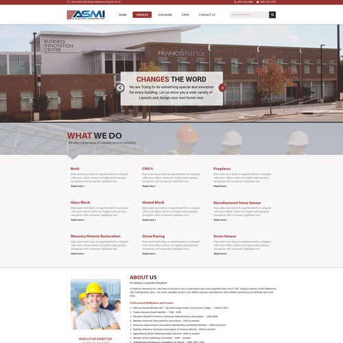 ASMI Dynamic New Website