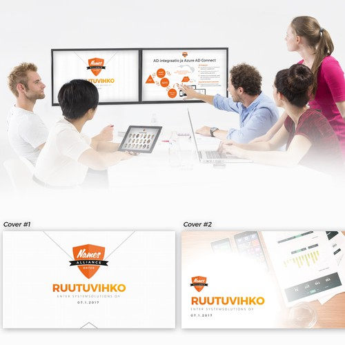Presentation Template for Enter Ruutuvihko