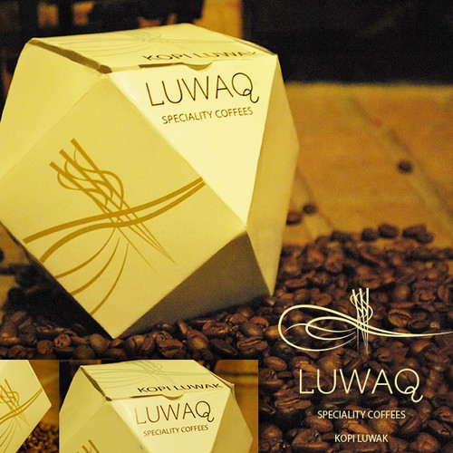 Create product packaging for world's most expensive Coffee