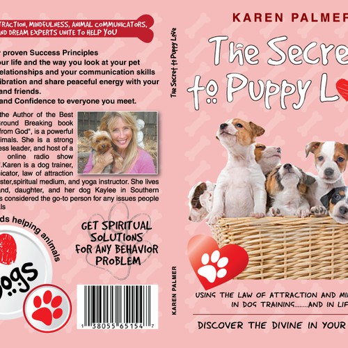 Cover Book - The secret to puppy love