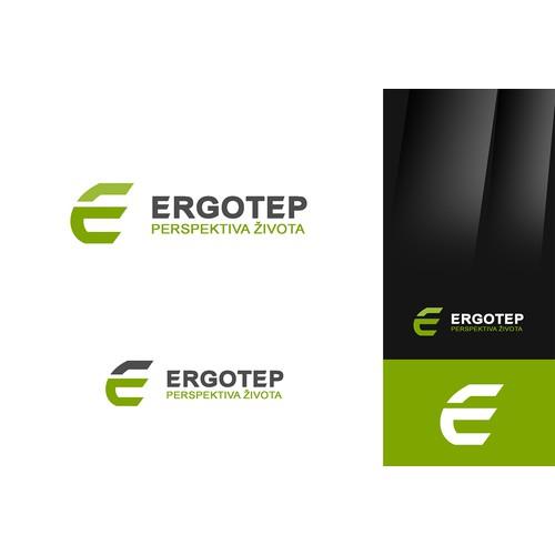 Create an eye-catching logo for Ergotep!