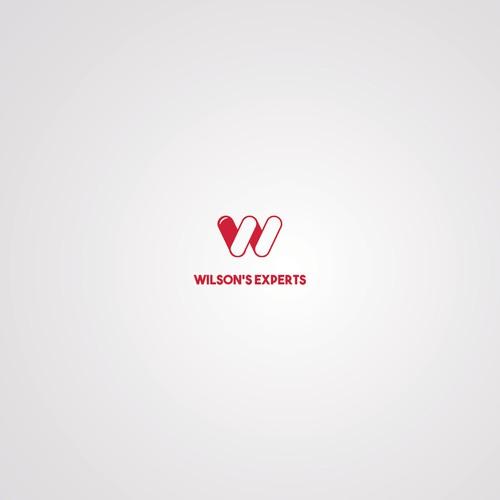 Simple feminine logo for Wilson's Experts