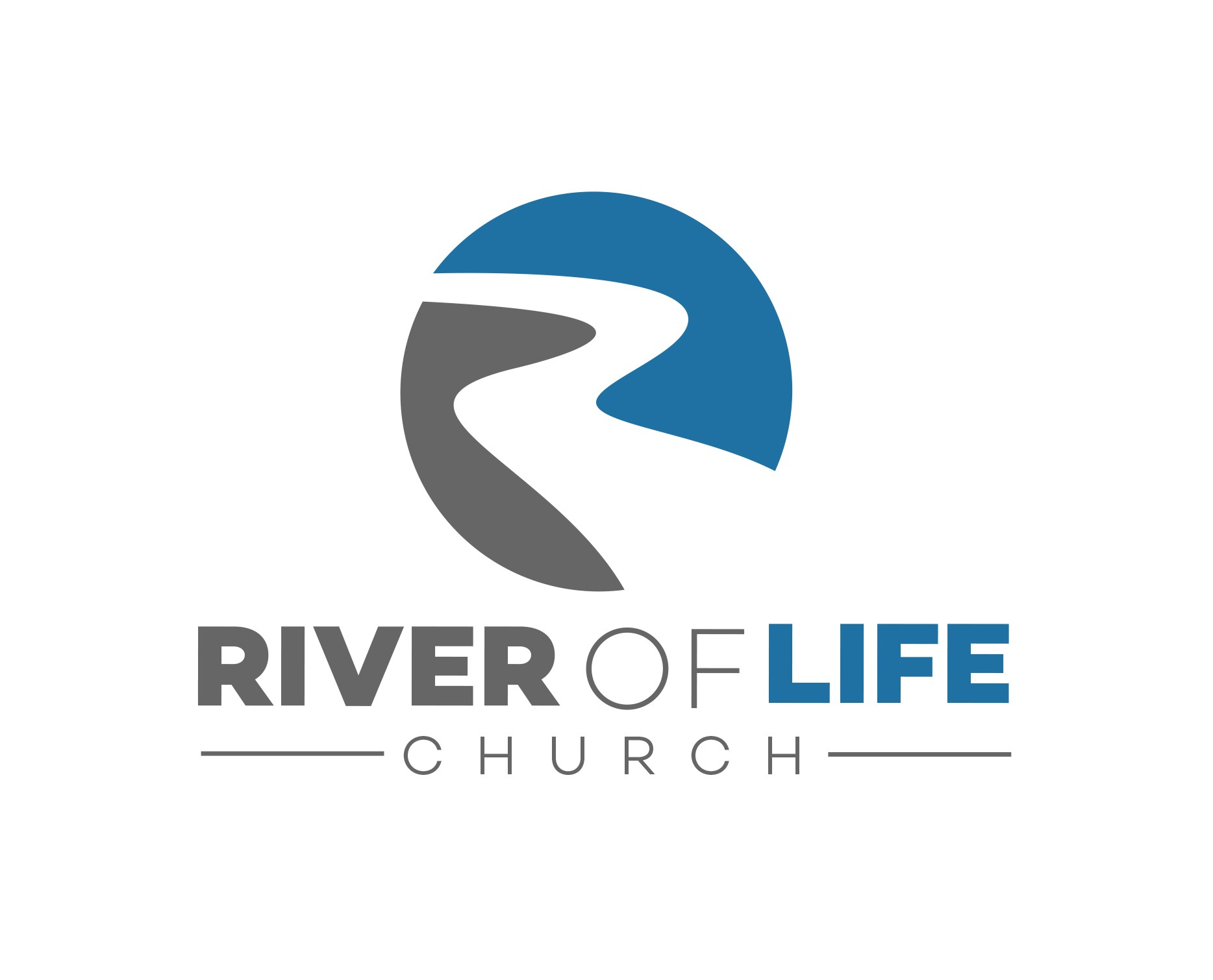 River of Life Church needs a clean, new logo