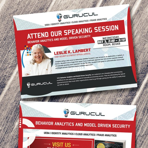 GURUCUL Technology - Postcard/Flyer desing