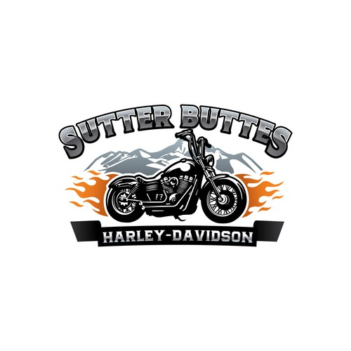 Motorcycle dealership looking to brand with unique logo