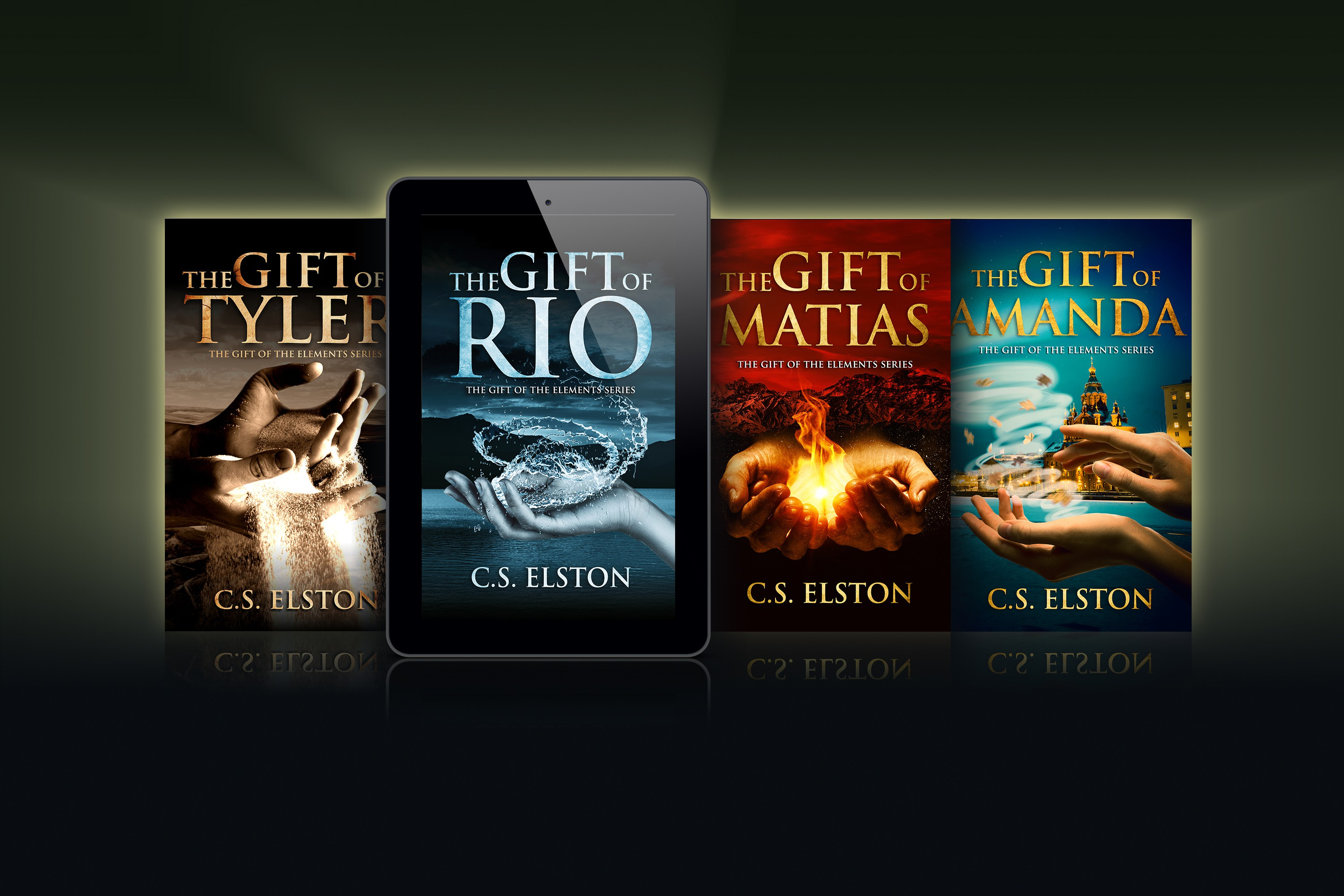 """""""The Gift of Matias"""" and """"The Gift of Amanda"""" Book Cover Designs"""