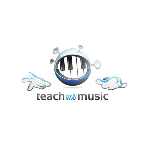 Logo design for music site