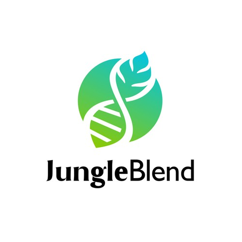 JungleBlend logo design