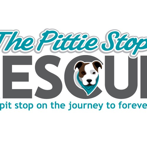 New Pit Bull Dog Rescue Needs a Logo - The Pittie Stop