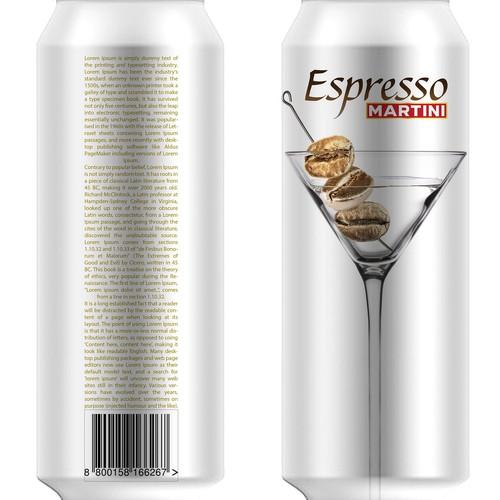 Logo / Product Design for new Espresso Martini beverage