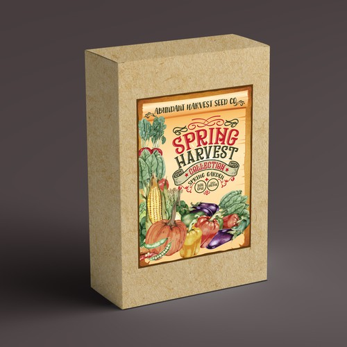 Seed Kit Box Cover