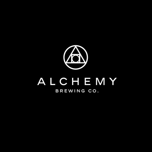 Create a logo for Alchemy Brewing Co.