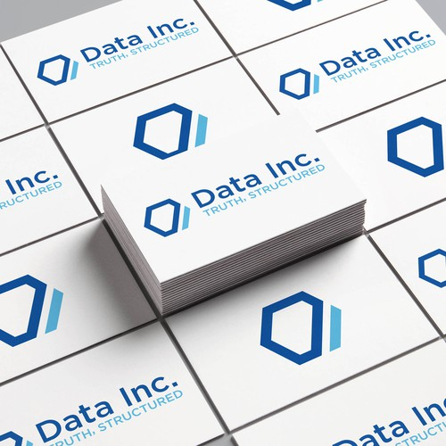 Logo concept for Data Inc.