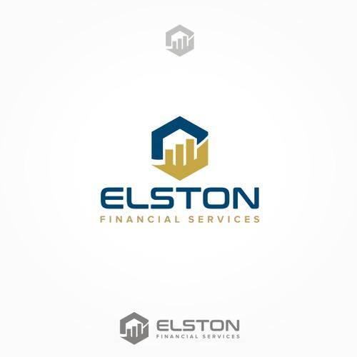 Elston Financial Services logo design