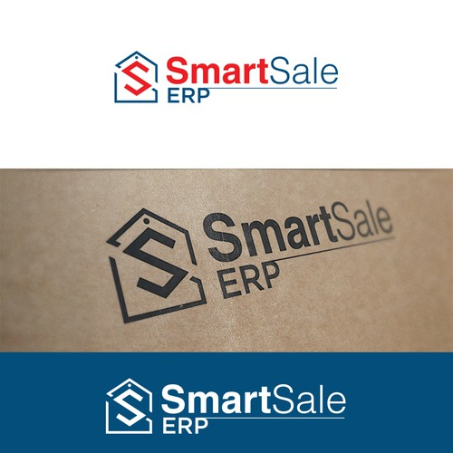 Create an amazing logo for a new software product launch - SmartSale ERP