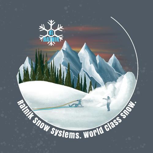 Snowmaking Swag Hoodie Design  ☃️