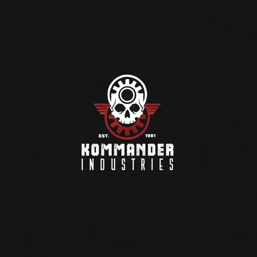 Logo design for Kommander Industries