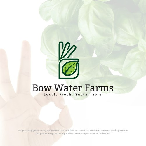 Logo for Bow Water Farms