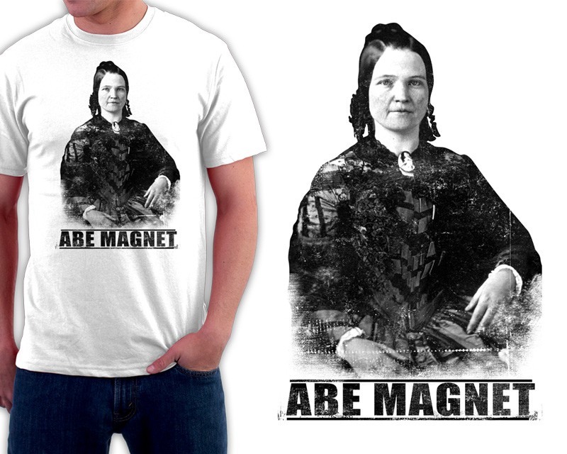 Total Tees: Abe Magnet