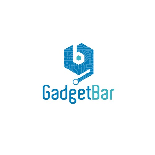 Logo w/Wordmark for a Gadget / Electronics / Cell Phone Repair shop.