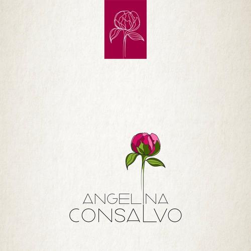 AngelinaConsalvo Logo Design