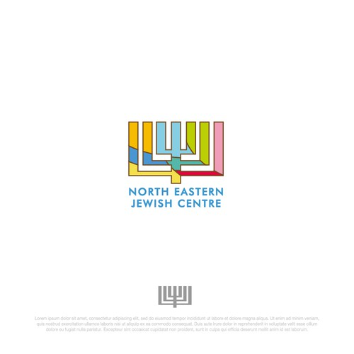 Logo Concept  for North Eastern Jewish Centre