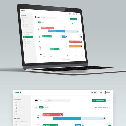 Tasks Scheduling Web Application