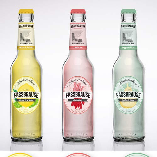 label for fassbrause / lemonade