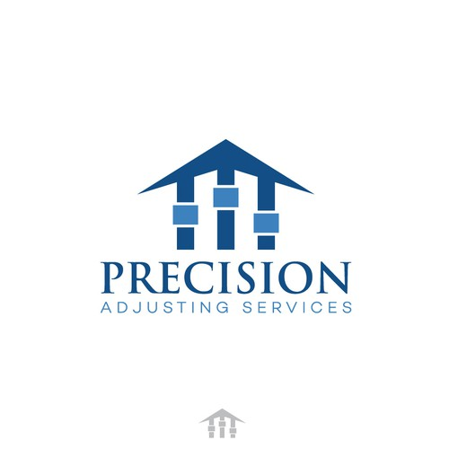 Winning design for Precision logo contest.