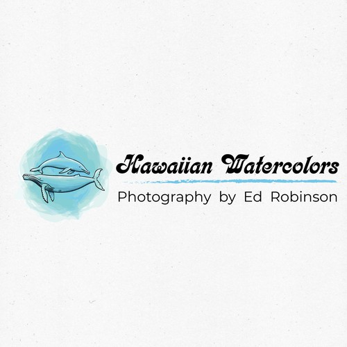 Logo for a photographer